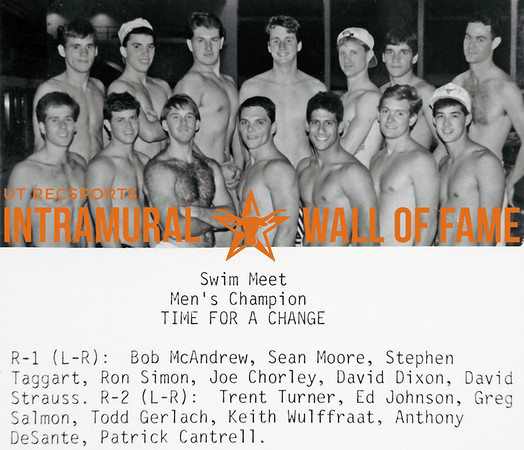 Intramural Champs 1987-88