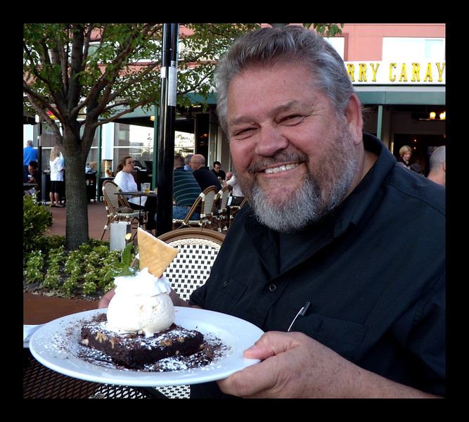 Dessert at Harry Caray's in Rosemont - 2011.JPG