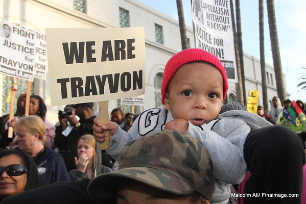 Trayvon Martin - March for Justice Los Angeles Ca - 3-26-2012