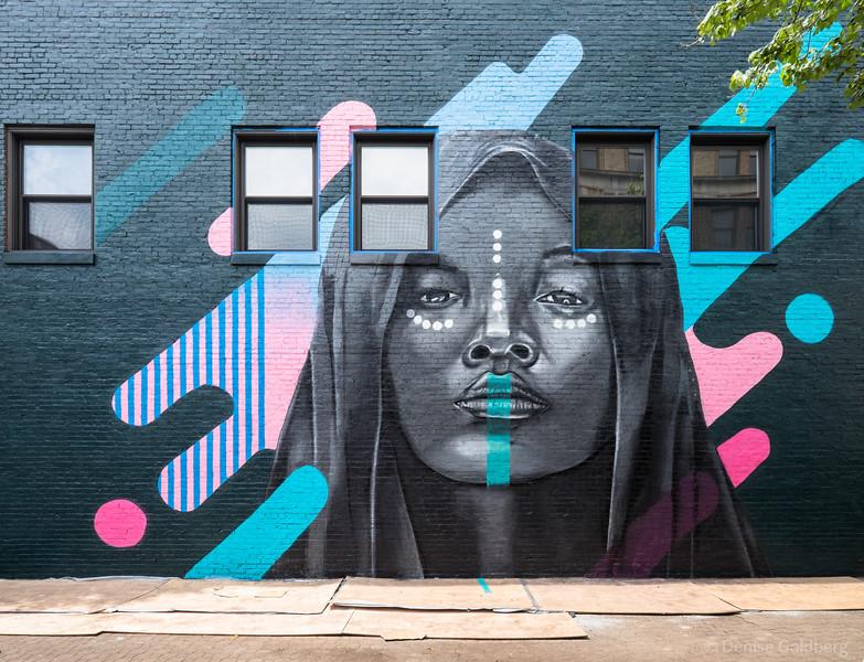 "mural by Cedric ""Vise"" Douglas"