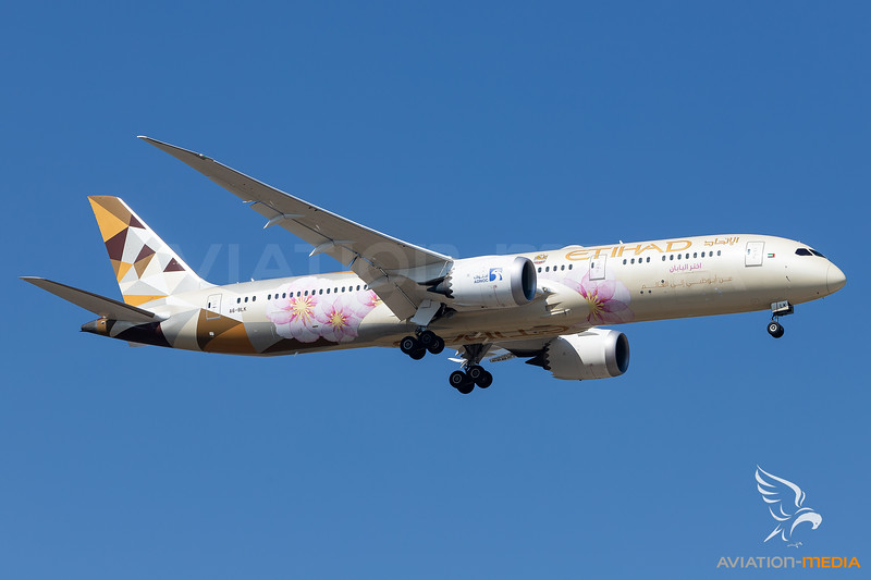 Etihad Airways / Boeing 787-9 / A6-BLK / Choose Japan
