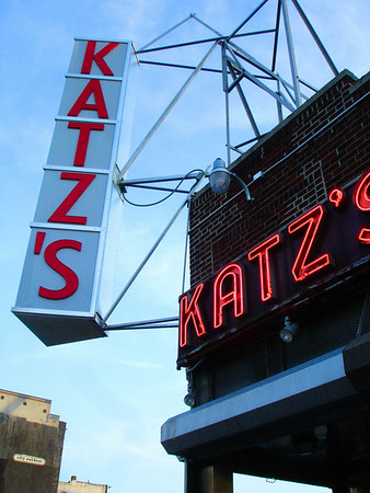 Katz's Delicatessen on Houston Street
