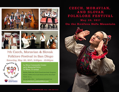 2017 Seventh Czech, Moravian and Slovak Folklore Festival in San Diego