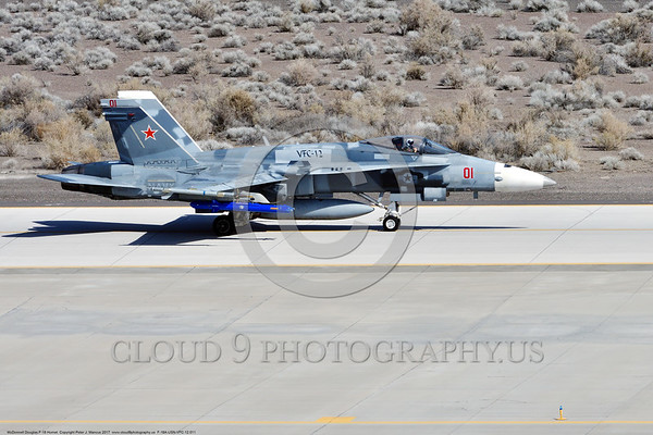 US Navy McDonnell Douglas F-18A Hornet Military Airplane Pictures
