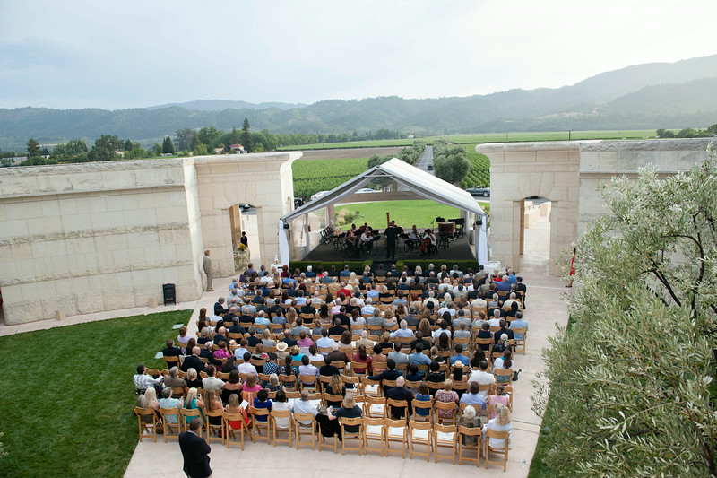 Under the Stars at Opus One