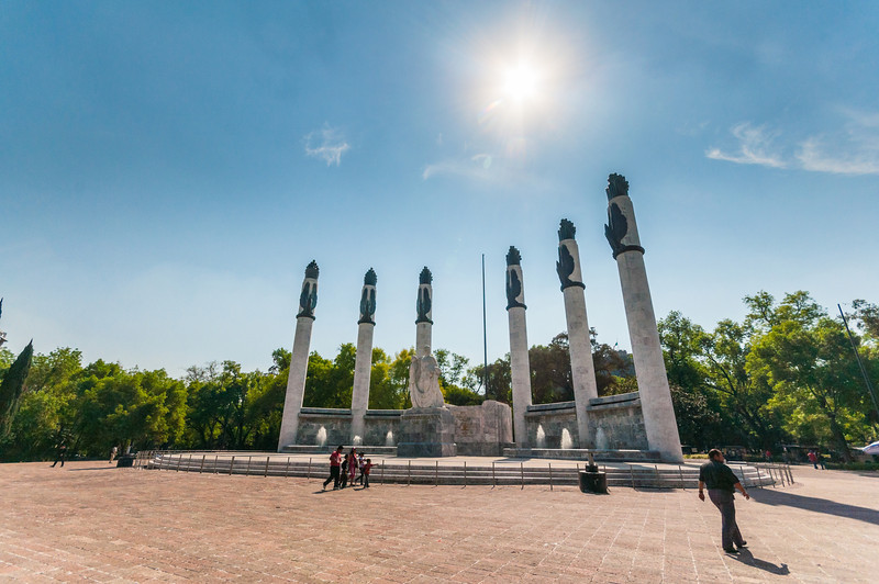 Monument to the Heroic Cadets in Chapultepec Park