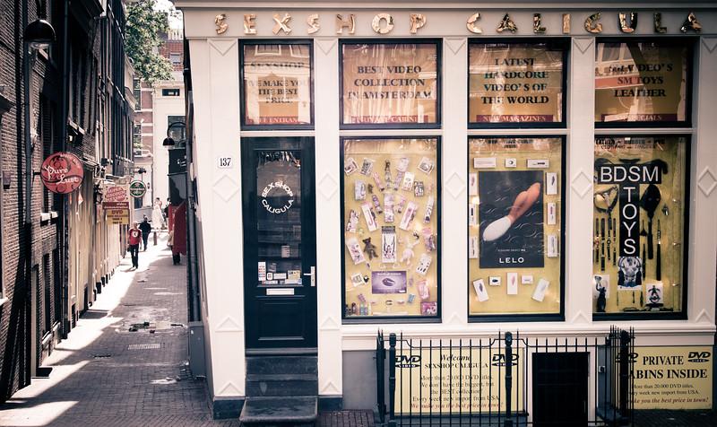 Sex shop in Amsterdam