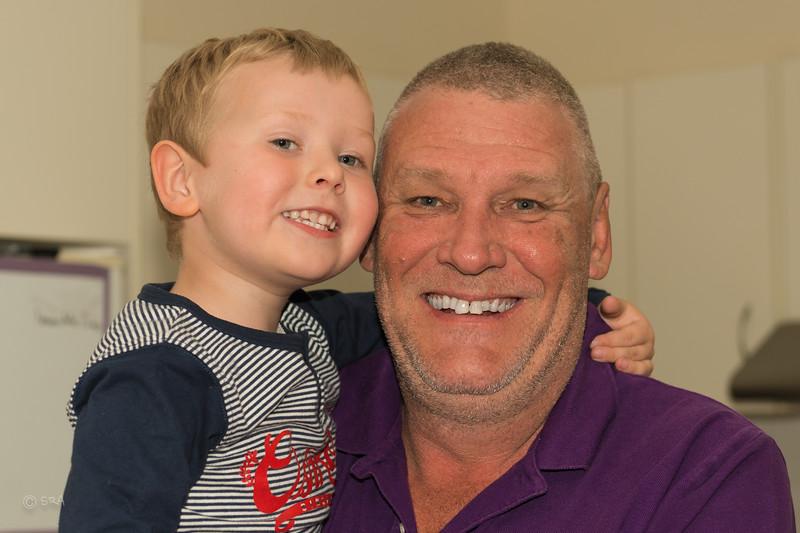 Landon & Dad