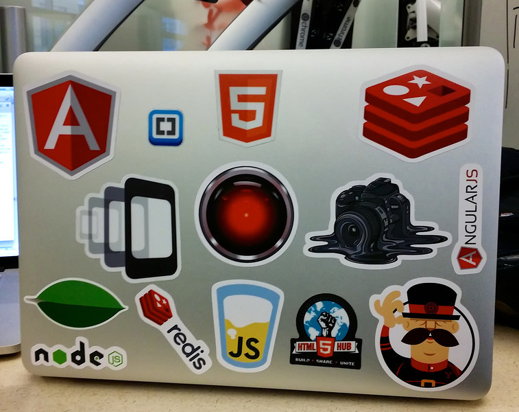 My laptop is ready for ngconf!