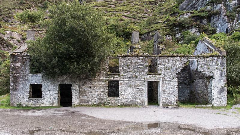 Augher Lake ruins