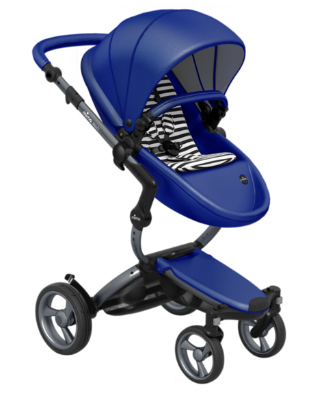 Mima_Xari_Product_Shot_Royal_Blue_Graphite_Chassis_Black_And_White_Stripe_Seat_Pod.png