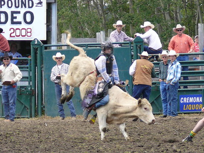 Boys Steer Riding Section 2