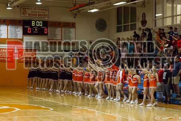 Cypress Creek Bears @ Boone Boys Varsity Basketball District Tournament - 2014