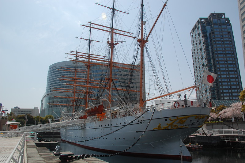 The Nippon Maru sail training ship