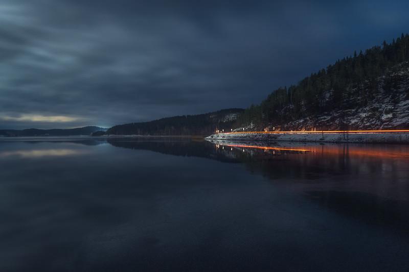 Quiet night in the Ladoga skerries