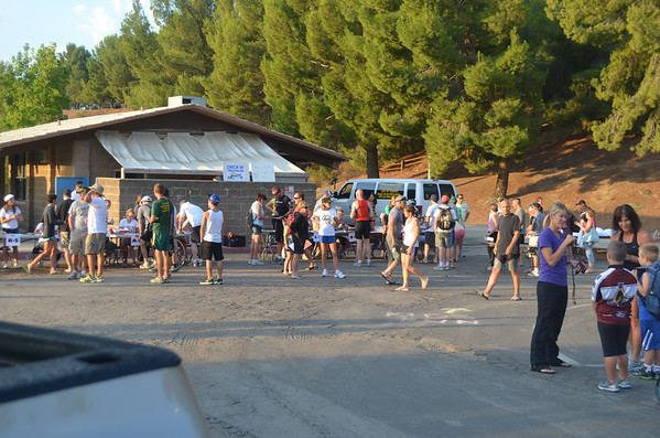 Lake Castaic Triathlon II 2012