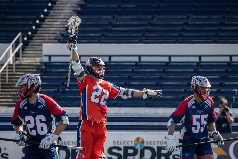 7/21/2020; Annapolis, MD, USA; Barrage vs Cannons - at Navy Marine Corps Memorial Stadium. Mandatory Photography Credit: Anne Evans