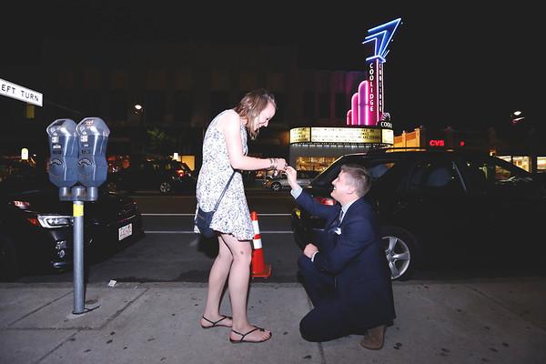 Melanie & Tom's Coolidge Corner Proposal