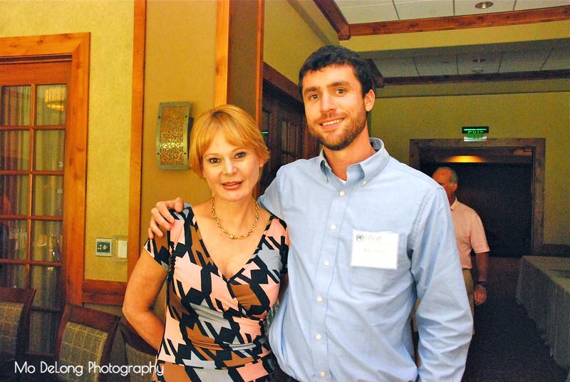 Arlene Stanich-Prince and Mike Sturgis
