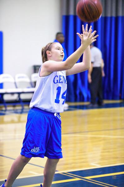 Girls Basketball Game Warmup-January 26, 2010