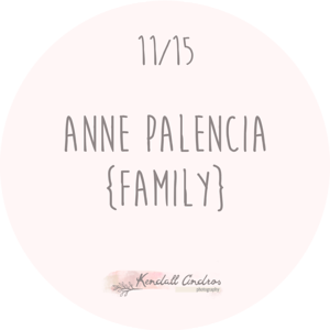 Anne Palencia Family