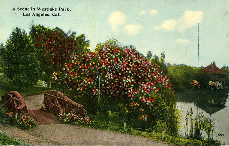 A Scene in Westlake Park
