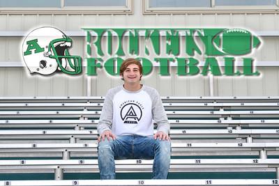 Robbie Senior Photos - Anna High School