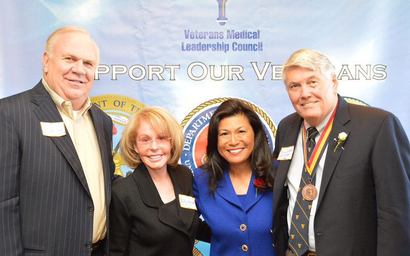 Don and Shirley Zeleznak, Dr. Mariano & Denny McComb