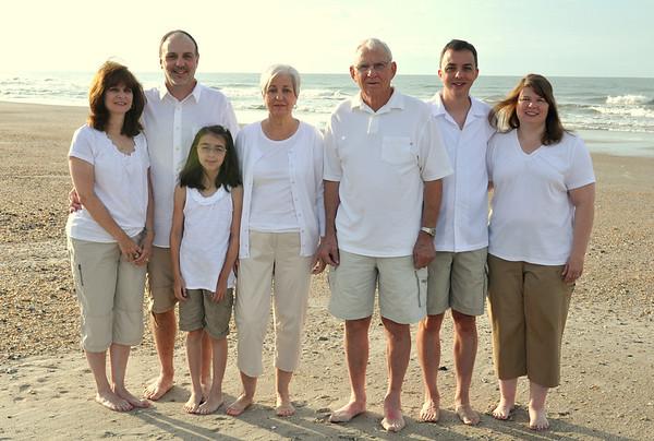 Holden Beach Family Portraits July 11, 2012
