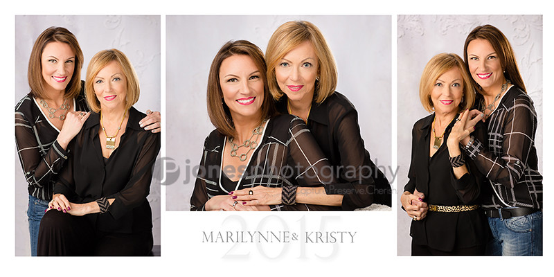 Kristy and Marilynne