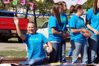 20101009 Rockets Fall Festival Parade by Shelli