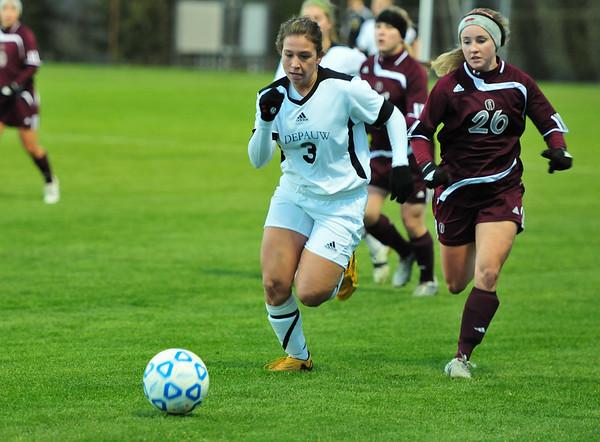 DePauw Women's Soccer vs Trinity 2010