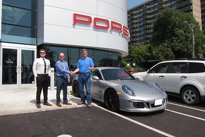 2015 Porsche Carrera 4 GTS - Delivery