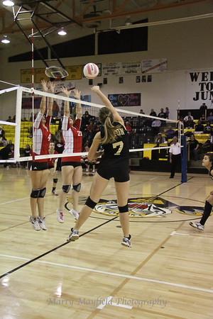 RHS Volleyball Raton v Robertson District Tourney