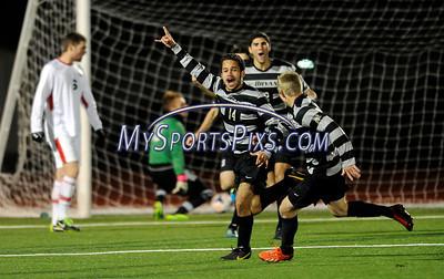 Bryant Saint Francis U NEC Men's Soccer Championship 2013