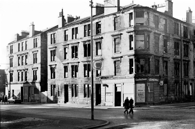 Corner of Claythorn St and Moncur St.    January 1974