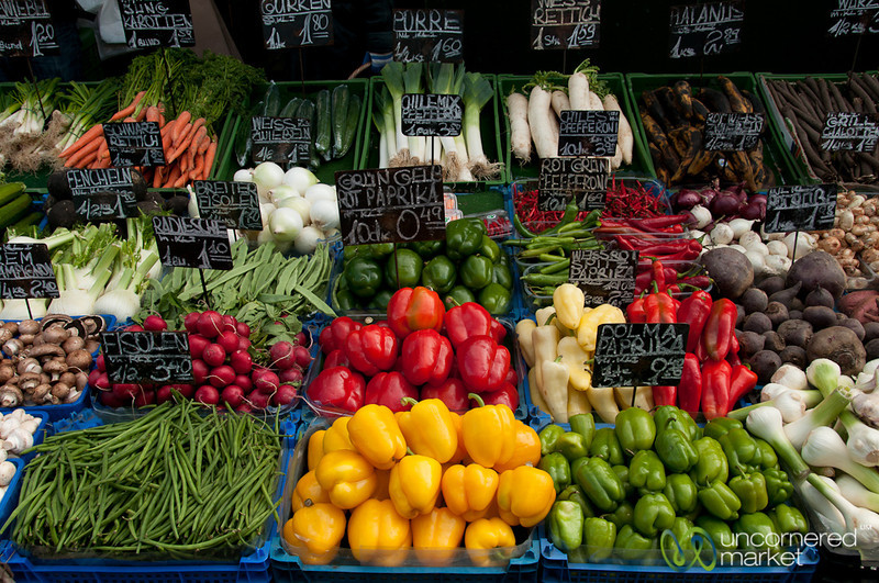 Beautiful Veggies at the Naschmarkt - Vienna, Austria