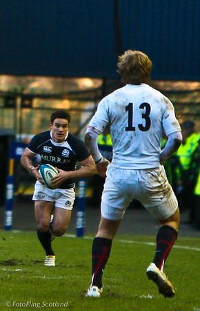 Rugby: Scotland  v England 2010