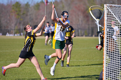 Collegiate JV Green Lacrosse 2015