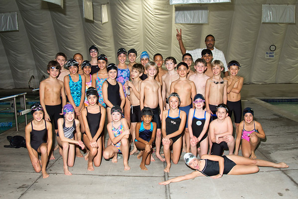 Sports Club Swim Team 2012