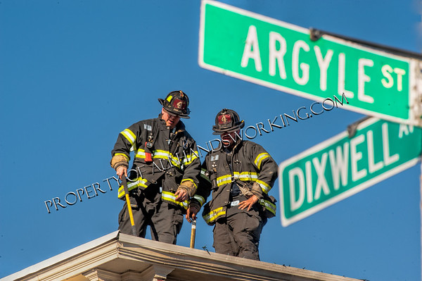 New Haven 2nd alarm 424 Dixwell Ave