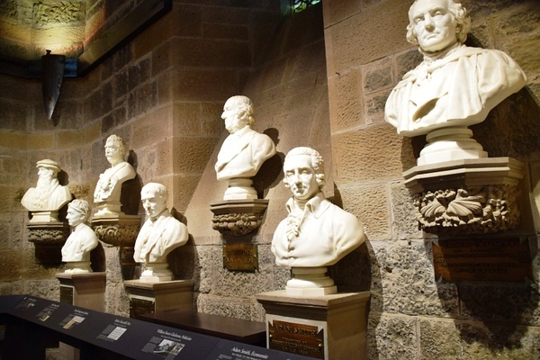 The Hall of Heroes in the Wallace Monument
