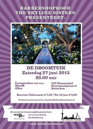 2015-0627 The Skyline Sisters - Droomtuin