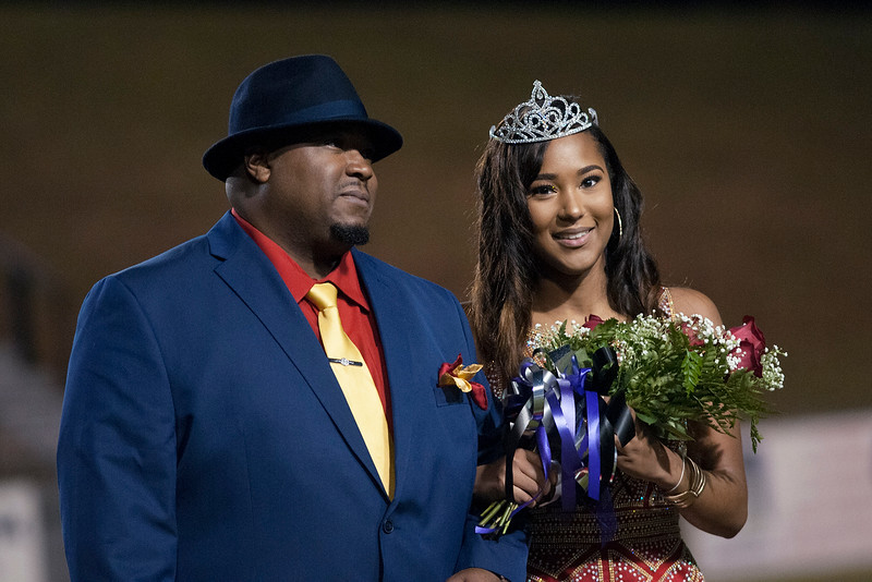 October 26, 2018 - UL Homecoming Court
