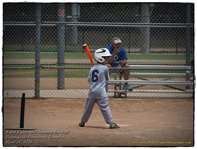 2016-04-30...5 and 6 year olds learning baseball Countryside Community Complex ,Clearwater,Fl