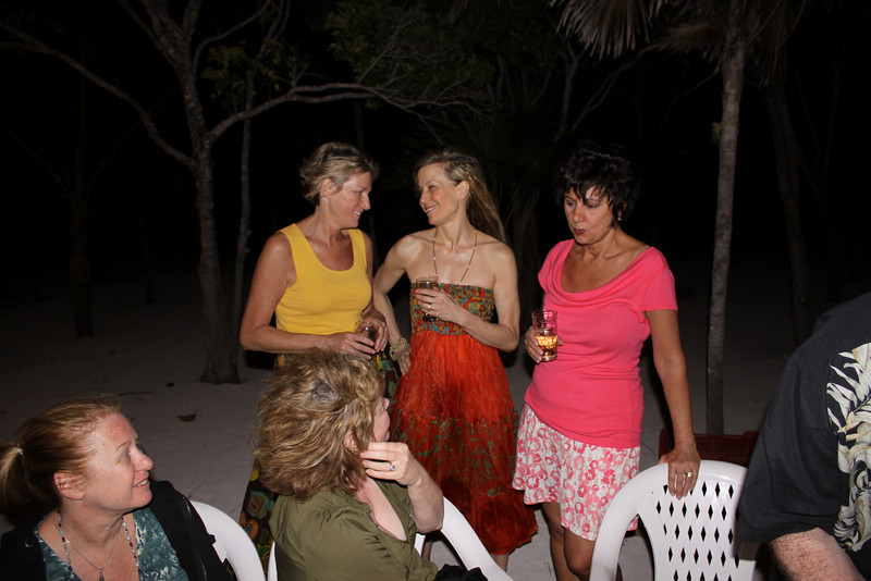 Bobbi, Helena and Debbie