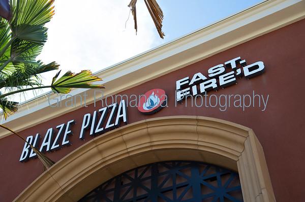 Blaze Pizza Grand Opening