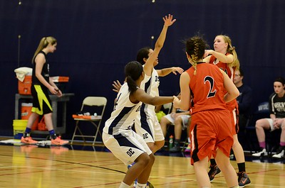 OE girls Jv basketball Vs Minooka 2015