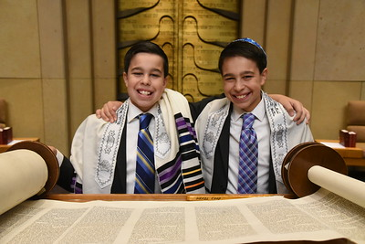 Andrew and Ryan at Adath