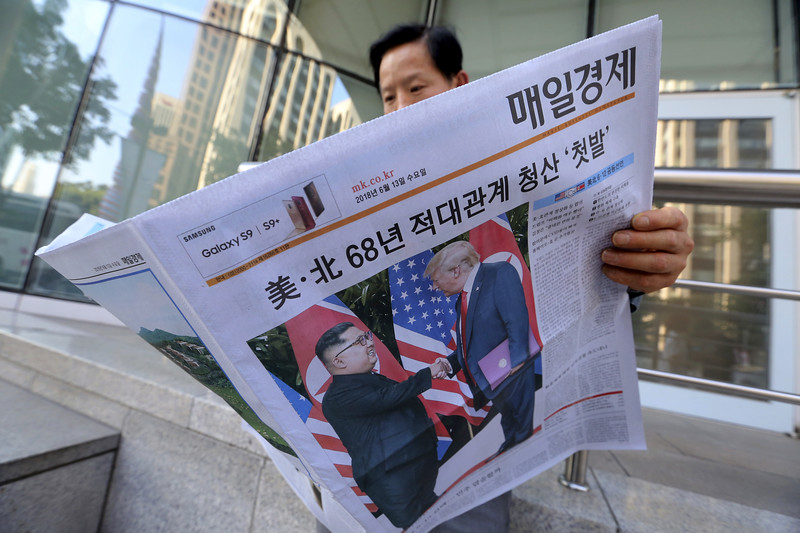 South Korea Trump Kim Summit